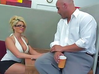 Work Can Wait As The Boss Decides To Try Out His New Assistant Brooke...