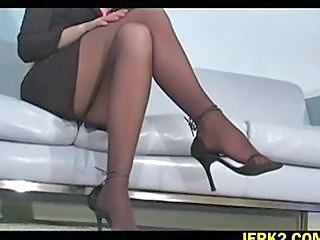 Feet Fetish Legs Office Pantyhose