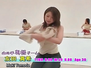 Subtitled Stripping Japan Milfs Change Into Bloomers