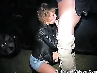 Hooker Parking Lot Blowjob