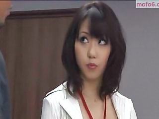 Asian Babe Brunette Cute Secretary