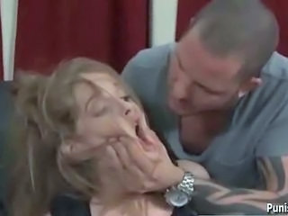 Redhead Girlfriend Faye Reagan gets Punished on Football Sunday