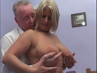 Blonde British European Mature Natural