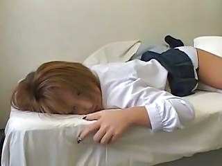 Asian School Sleeping Teen