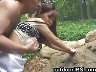 Amateur Asian Japanese Outdoor Teen