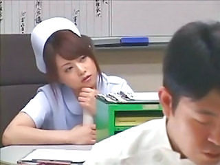 Asian Cute Japanese Nurse Teen Uniform
