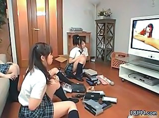 Asian Japanese School Teen Uniform