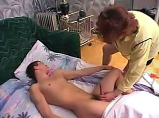 Amateur Handjob Mom Old and Young Redhead Sleeping