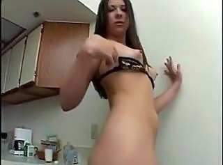 Amateur Double Penetration Kitchen Nipples