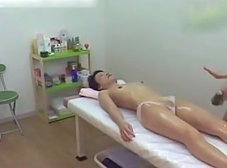 Asian  Japanese Massage Mature Oiled Voyeur