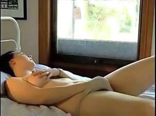 At Home - Woman Masturbates Orgasm. Comp.
