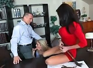 office threesome _: babes hardcore threesomes