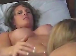 Lesbian Licking Mature MILF Old and Young