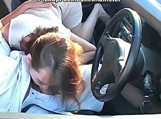 Amateur Blowjob Car Clothed