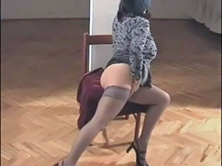 Ass Fantasy Masturbating Mature Stockings