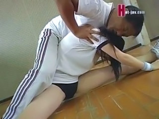 Asian Cute Flexible Japanese Sport Teen