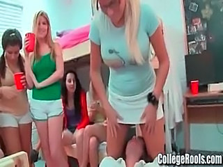 Drunk Lesbian Orgy Party Student