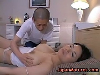 Asian Big Tits Japanese Mature MILF Pornstar Sleeping