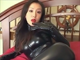Asiatic Fetish Japoneza Latex MILF