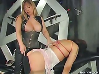 Bdsm Bondage Latex MILF Slave