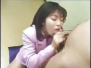Asian Cumshot MILF Swallow
