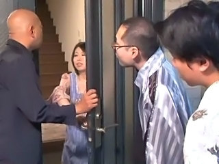 Asian Gangbang Japanese MILF Young