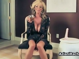 Mature slut with giant