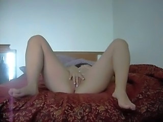Sexy Latin Army Girl Strips and Masturbates Pt. 2