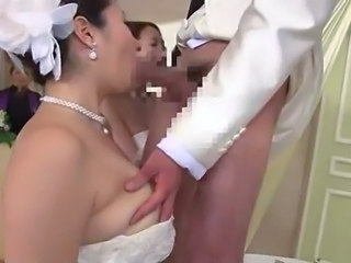 Asian Blowjob Bride Japanese MILF