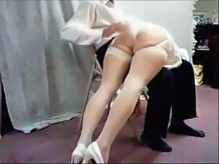 Bride Spanking Stockings Wife