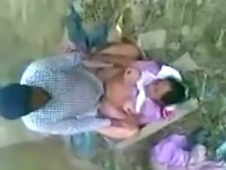 Amateur Clothed Indian Outdoor Wife