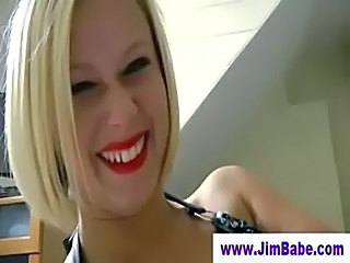 Amateur Blonde British European MILF Older Pov
