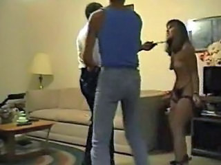 Husband forces wife to fuck an old black dude with a ...