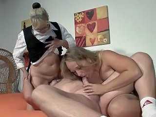 Amateur Blowjob Facesitting German Licking Mature Threesome