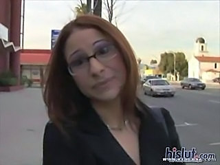 Glasses Outdoor Redhead Teen