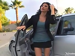 Amazing Car  MILF Outdoor