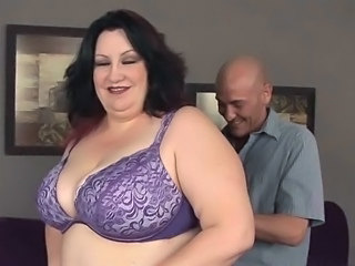 BBW Big Tits Brunette Lingerie Mature