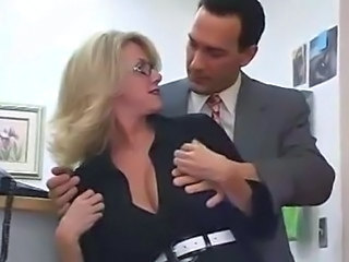 Glasses MILF Office