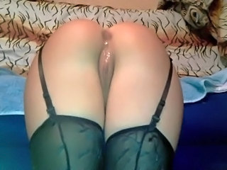 Anal German MILF Pussy Shaved Stockings