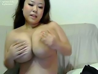 Asian Big Tits Cute MILF Natural Webcam