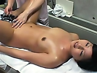 Spycam Wife Reluctant Massage Orgasm