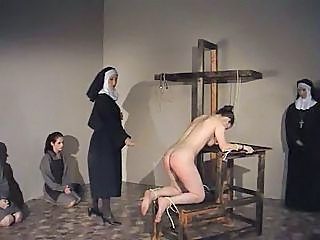 Caning Her Ass 50 Times Until She Screams