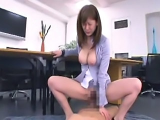 Asian Big Tits Hairy Hardcore Japanese MILF Pornstar Riding