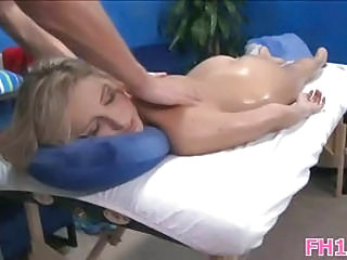 Babe Cute Massage Oiled