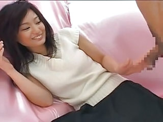 Asian CFNM Cute Handjob Japanese Teen