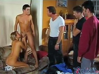 Lisa Belle In Gang Bang