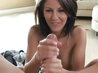 Lusty Bitch Lexi Stone Jerks Off A Brimming Boner And Milks It Into He...
