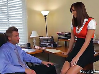 Amazing MILF Office Secretary