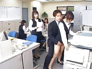 Asian Clothed Cute Doggystyle Japanese Office Public Secretary Teen