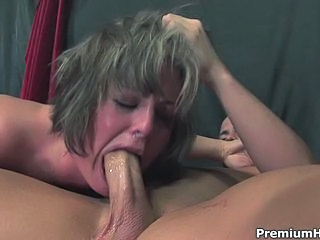 Hot as hell Isabel Ice chokes on this thick dick